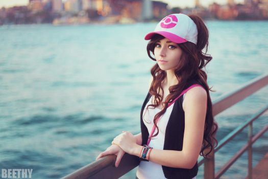 Pokemon - Touko / Hilda by beethy