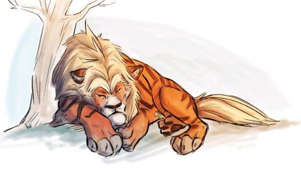 Arcanine by Clairictures