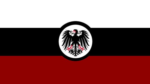 German Empire flag by KingWillhamII