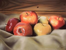 Apples III by DuchaART