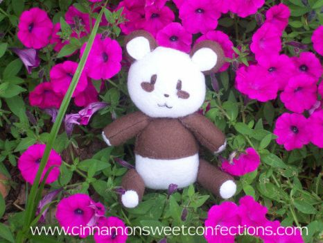 Smores the Bear by hand-sewers-unite