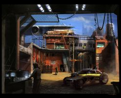 Garage by GreyHues