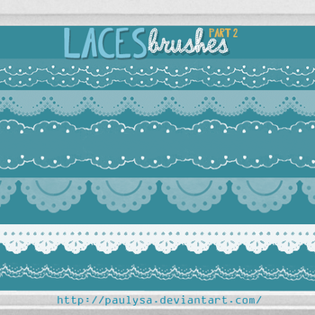 Laces Brushes Part2 by Paulysa