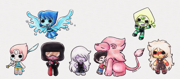 Gems! .. and lion Cx by Bubble-Chubi