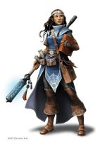 Cleric of Kaga by WillOBrien