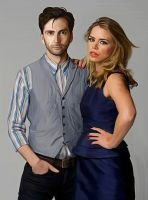 John Smith and Rose Tyler by LicieOIC