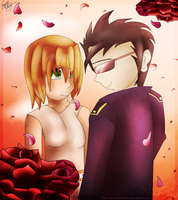 Dance With The Roses .:Commission:. by Angel-Prower