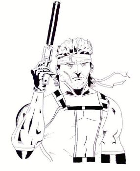 Solid Snake by ash316