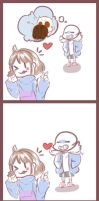 Payback SANS x FRISK by Tiffy-OoO