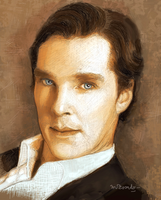 Benedict Cumberbatch-03 by BlueZest