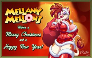 Mellany's Xmas - 2011 by eltonpot