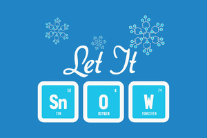 Let It Snow Science by CubedMEDIA