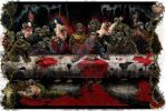 Zombie Last Supper Color Final by phour-nyne-guy