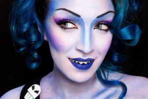 Female Hades by Surgerymakeup