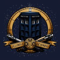 50th Anniversary Dr Who Design by SteveGibson