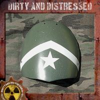 Army Wasteland Shoulder Guard by DirtyandDistressed