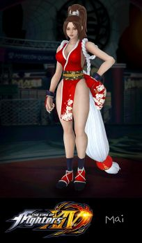 The King of Fighters XIV: Mai by xCrofty