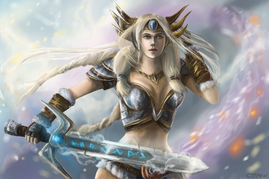 Freya, Queen of the Valkyries by CTTFOW