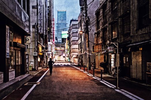 Urban Solitude III  by rawimage by rawimage