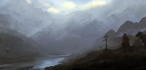 Mountains by PE-Travers