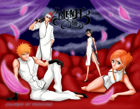 'Bleach-Mafia' by Nemizida