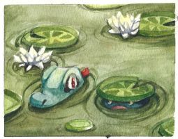 Pond, little pond by seepia