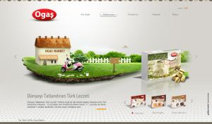 Turkish Delight Website 2 by grafiket