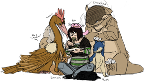 lksjdf leave my food alone by theHackt