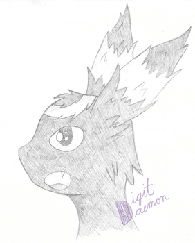 Umbreon Sketch by SenatorDigitDaemon