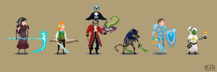 DnD Adventuring Party by RollToNotDie