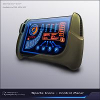 Sparta Icons - Control Panel by JJ-Ying