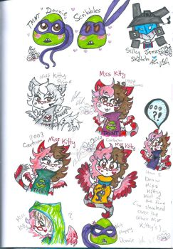 TMNT MissKitty TransformersJazz other Universes by Kittychan2005