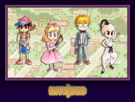 EarthBound by fashion-jerk