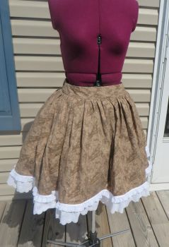 Gathered Skirt by Nerds-and-Corsets