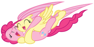 Fluts and Pinkie - Hugz! by Anxet