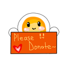 Please Donate Sign by TransmitingPoint2You