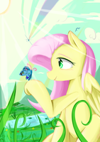 Fluttershy by MikeDom