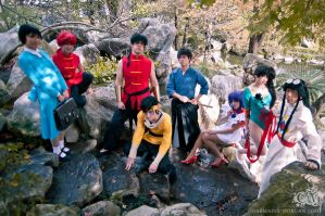 The Most Awesome Ranma Group by queencattabby