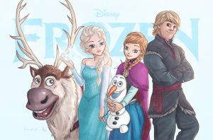 Frozen by Kc-Eazyworld