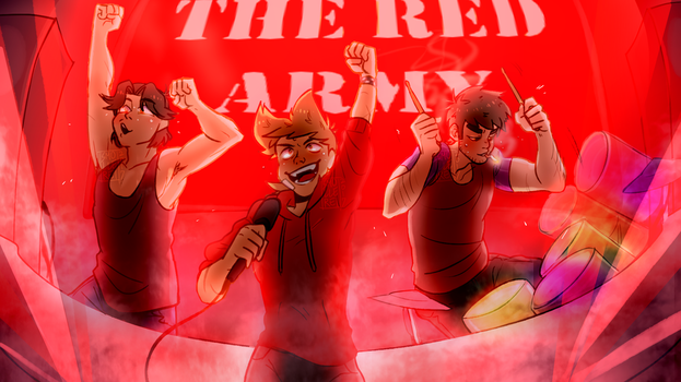 The Red Army by smollereii