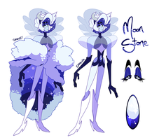 Gemsona | Moonstone by SpadesArts