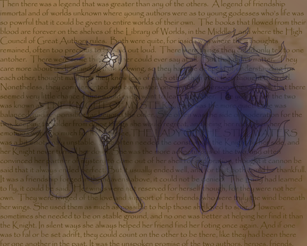 Legend of Two Friends by DragonsAndDreamscape