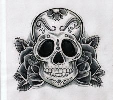 Sugar Skull by Kirzten