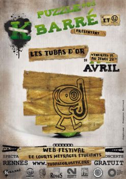 Affiche K barre Poiveron.Tubas by leamings