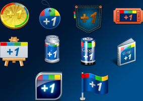 Google +1 Icons by FreeIconsFinder