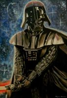 Darth Vader by Nastyfoxy