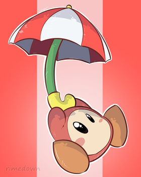 Waddle Dee - Day 1481 by Seracfrost