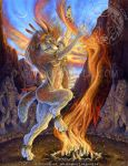 Sacred Fire by Goldenwolf