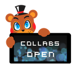 Toy Freddy Collabs Open Stamp by Ink-cartoon