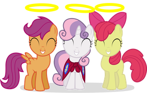 Cutie Mark Crusaders - 3 Little angels by CaNoN-lb